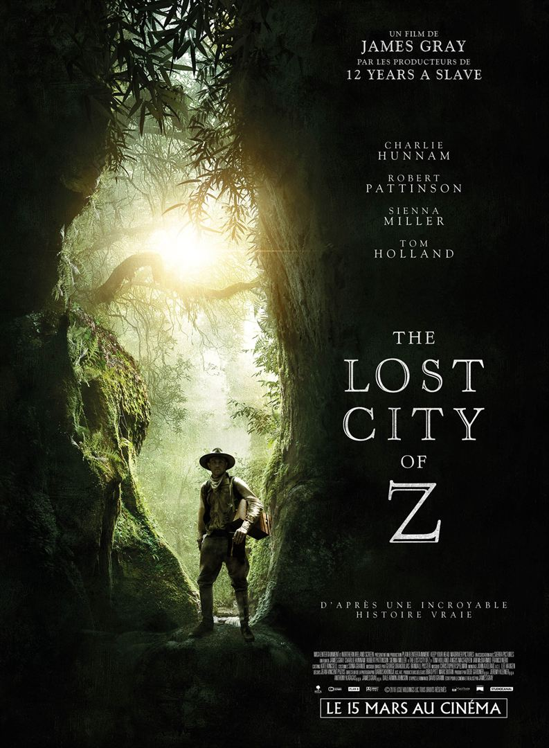 THE LOST CITY OF Z aff